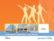66 Main Apartments Printable Brochure - Apartments For Rent