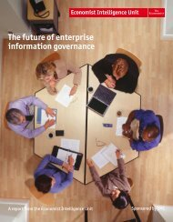 Preface The future of enterprise information governance - EMC