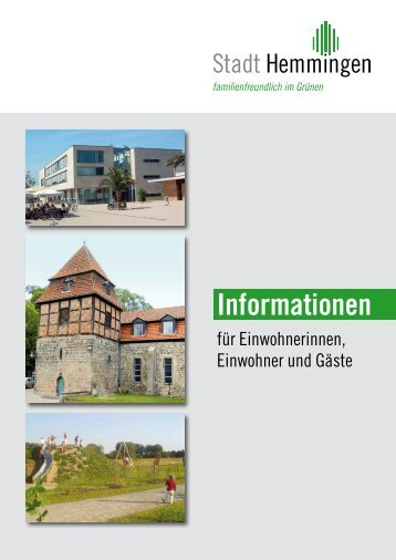 Hemmingen – Entwicklung und Geschichte - ancos-verlag