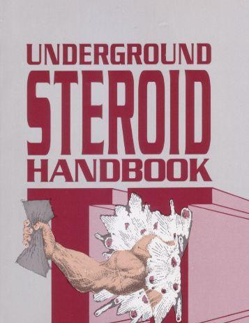 Underground Steroid Handbook  2