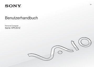 Sony VPCS12F7E - VPCS12F7E Mode d'emploi Allemand