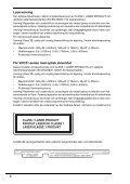 Sony VPCS12F7E - VPCS12F7E Documents de garantie Danois - Page 6