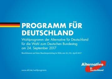 AfD Bundestagswahlprogramm_2017_Onlinefassung