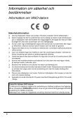 Sony VPCS13A7E - VPCS13A7E Documents de garantie Danois - Page 6