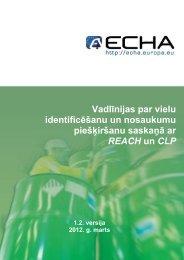 (vēlas) provizoriskās reģistrācijas un informācijas ... - ECHA - Europa