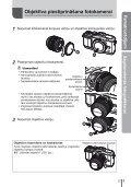 Lietošanas rokasgrāmata - Olympus - Page 5