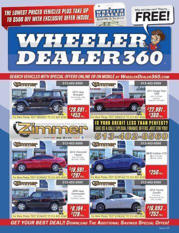 Wheeler Dealer Issue 25, 2017