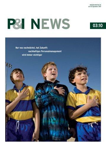 P&I NEWS 03_2010 _v2_Layout 1 - Personal & Informatik AG