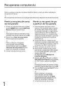 Sony VPCEJ2B4E - VPCEJ2B4E Guide de dépannage Roumain - Page 6