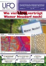 Zeitung Juni 2009 - Umweltforum Wiener Neudorf