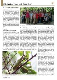 Mit dem Zoo-Verein nach Österreich - Zoo Wuppertal