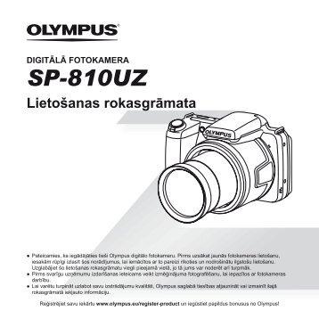 Lietošanas rokasgrāmata - Olympus