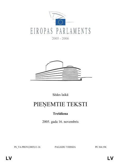 LV - Eiropas Parlaments - Europa