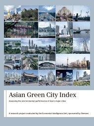 Study: Asian Green City Index - Siemens