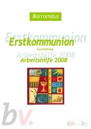 Arbeitshilfe zur Erstkommunion-Ausstellung des Borromäusvereins ...