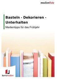 Basteln - Dekorieren - Unterhalten - Borromedien