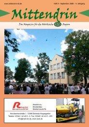 Das Magazin für die Märkische -Region S 5 - mittendrin-s5.de