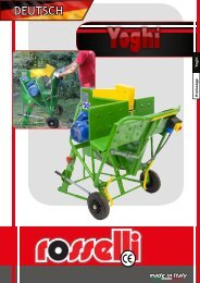 Wippkreissäge Elektromotor - Yoghi 600