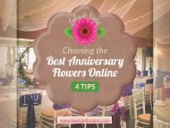 4 Tips to Choose the Best Anniversary Flowers