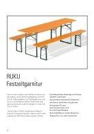 RUKU Klappmöbel Katalog - 2017 - Page 4