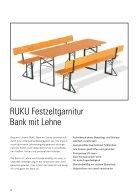 RUKU Klappmöbel Katalog - 2017 - Page 6