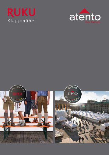 RUKU Klappmöbel Katalog - 2017 en