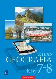 Fragment - Geografia Atlas -  klasa 7-8 - WSiP