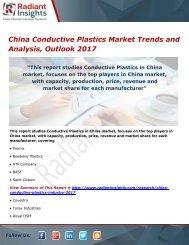 China Conductive Plastics Market Analysis and Outlook 2017