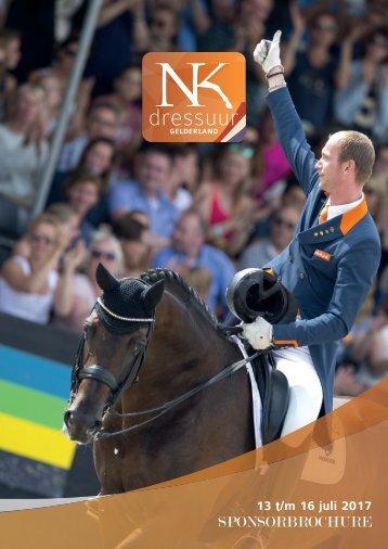 Sponsorbrochure NK Dressuur Gelderland