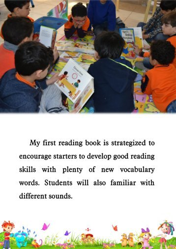 My first reading book stage- 3