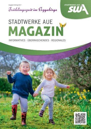Stadtwerke Aue Magazin - Ausgabe Frühling 2017