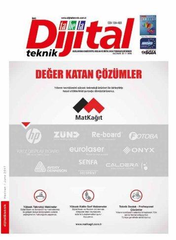 Dijital Teknik Dergisi – Haziran 2017 Sayısı