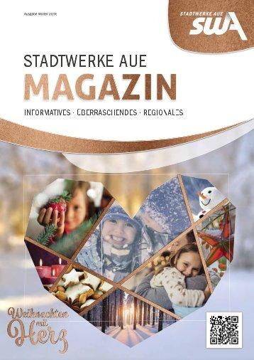 Stadtwerke Aue GmbH - Ausgabe Winter 2016