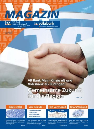 Ausgabe März 2009 - VR Bank Main-Kinzig-Büdingen eG