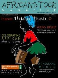 Africanstock Magazine (Maiden Edition)