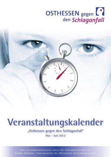 """Veranstaltungskalender """"Osthessen gegen den ... - Klinikum Fulda"""