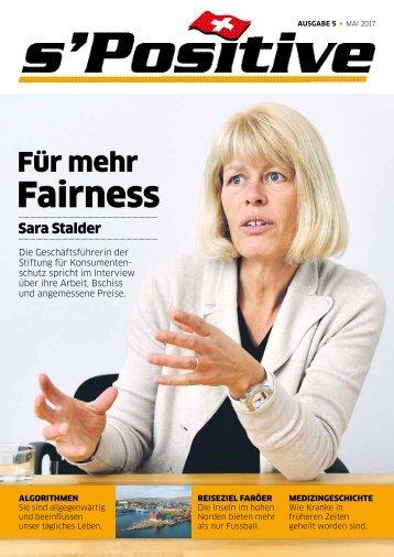 s'Positive Magazin 05.2017