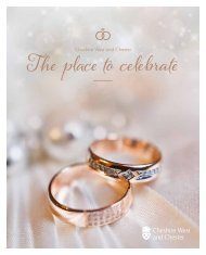 Cheshire West Weddings Brochure