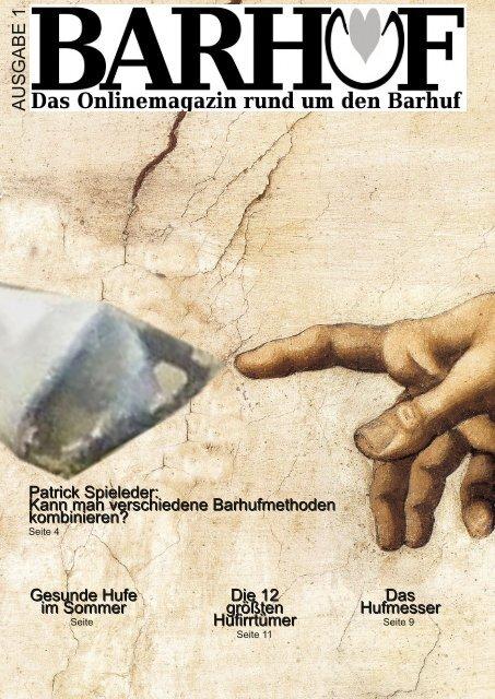 Barhuf - das Magazin Nr 1