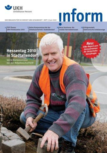 magazin für sicherheit und gesundheit - Unfallkasse Hessen