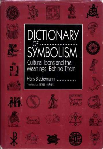 Biederman Dictionary of Symbolism