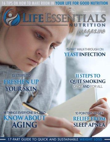Life Essentials Magazine - December 2016