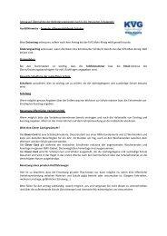 Ausfüllhinweise - Formular Allgemeinbildende Schulen
