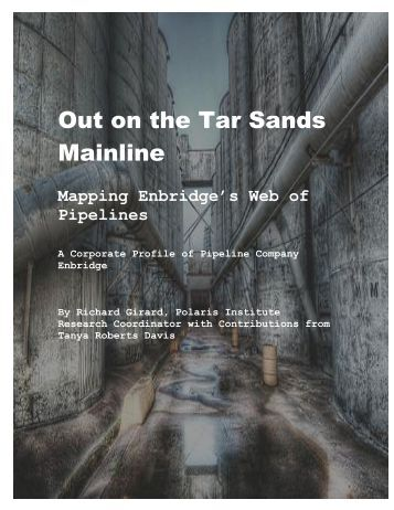 Enbridge Profile - Tar Sands Watch