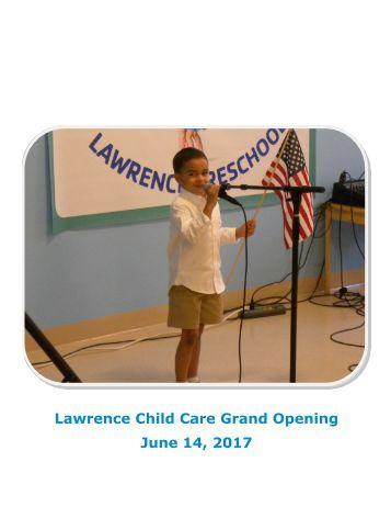 Child Care Grand Opening Slideshow