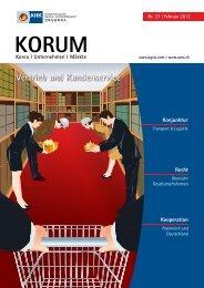 Vertrieb und Kundenservice KORUM - AHK Korea - AHKs