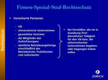 Firmen-Spezial-Straf-Rechtsschutz