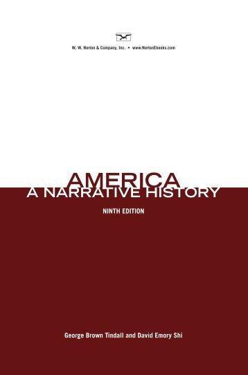 America-Narrative History