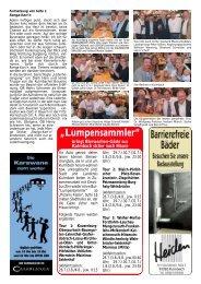 """""""Lumpensammler"""" - Bierfestzeitung"""