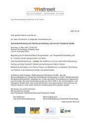 Einladung zur Veranstaltung - Magdeburger Platz Quartier